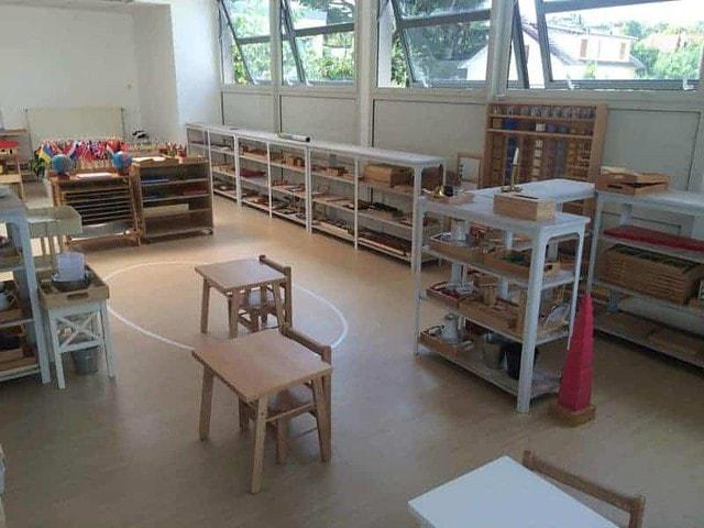 Une ambiance Montessori