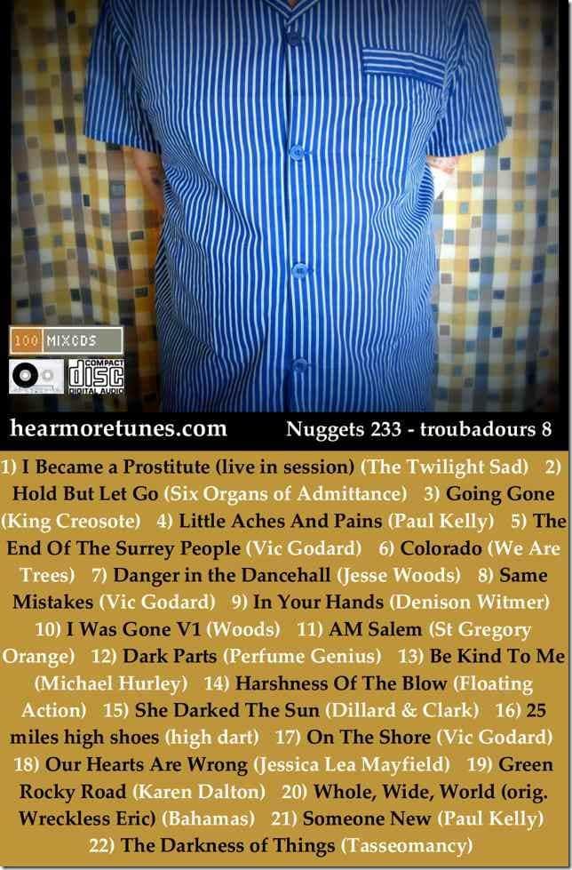 Nuggets 233 - troubadours 8