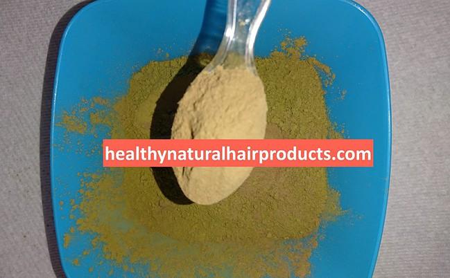 Mix Henna and Amla Powder for Hair