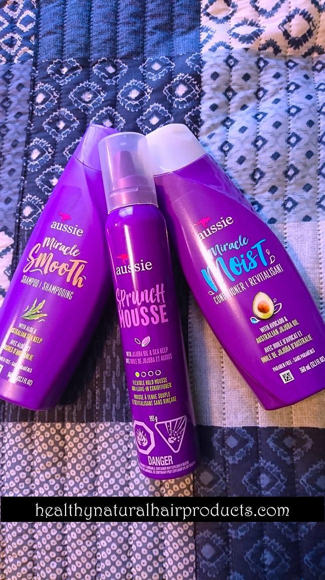 Aussie Miracle Smooth Shampoo