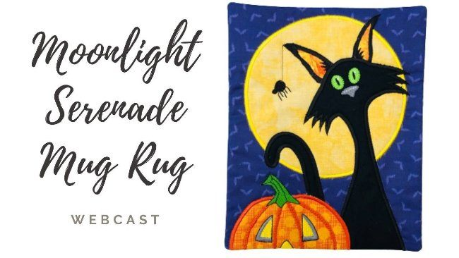 Moonlight Serenade Mug Rug