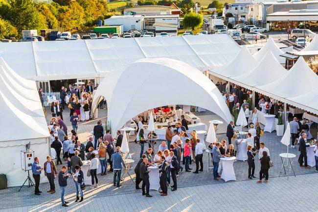 Eröffnungsfeier der neuen Firmenzentrale in Mendig