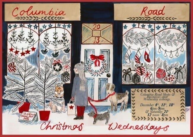 Christmas on Columbia Road London