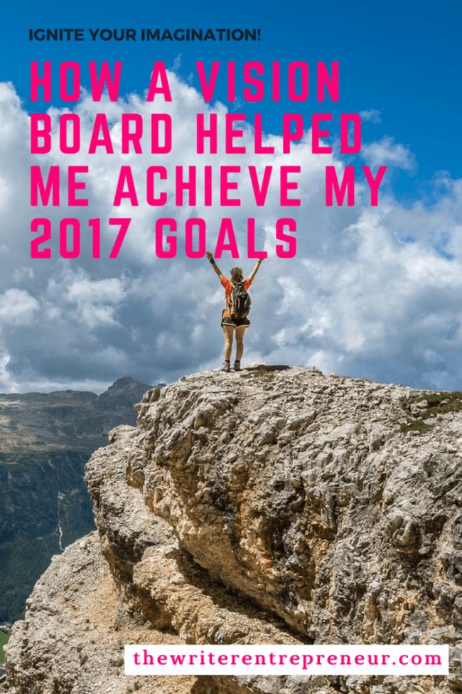 How a vision board helps me achieve my yearly goals