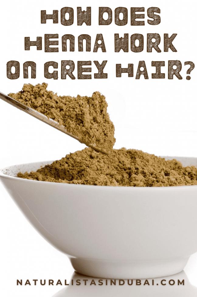 how does henna work on grey hair