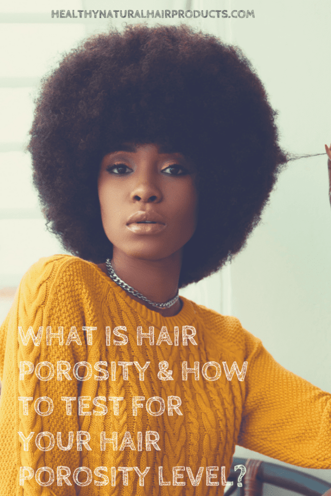 What is hair porosity and how to test your hair porosity level