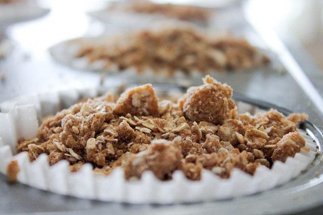 Zucchini Chocolate Chunk Muffins