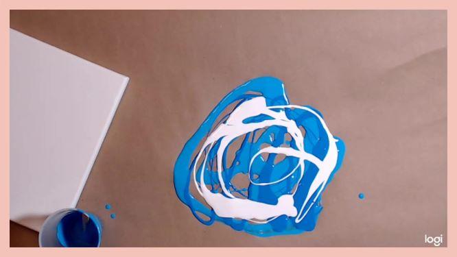 dip painting method in progress