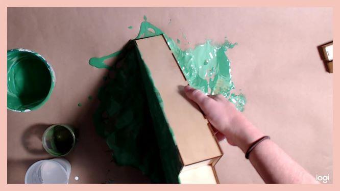 DIY Christmas Advent Calendar in progress