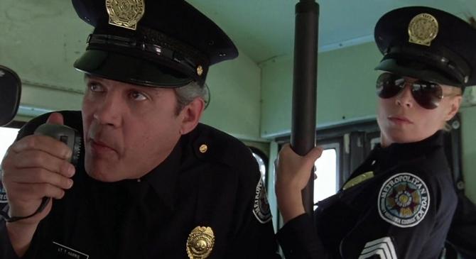 Спор с полицией