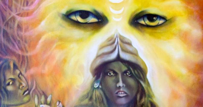 Paintings One, Roger Williamson Art, mythology artist