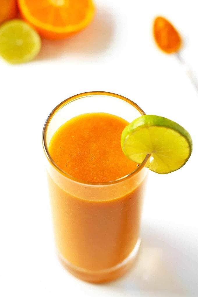 Orange Carrot Citrus Smoothie