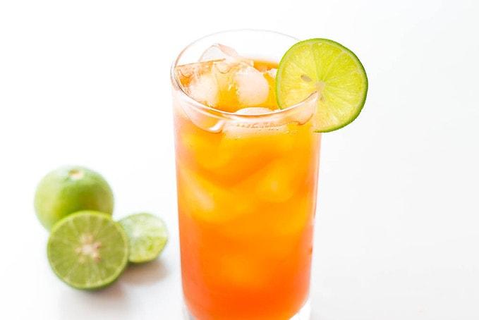 Thai Iced Tea with Lime