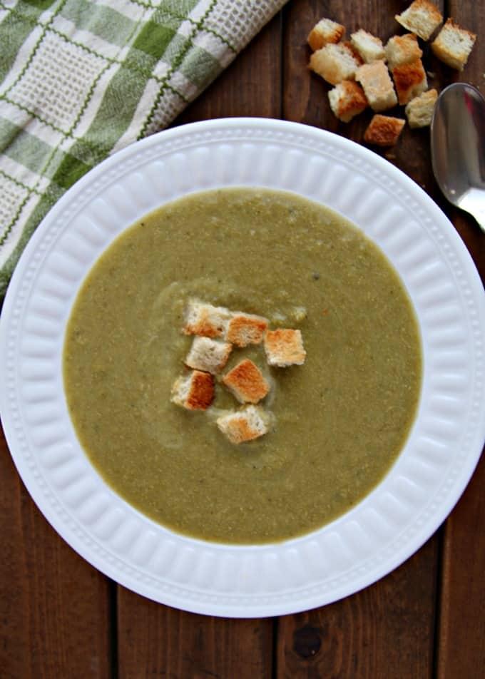 Potato Broccoli Soup