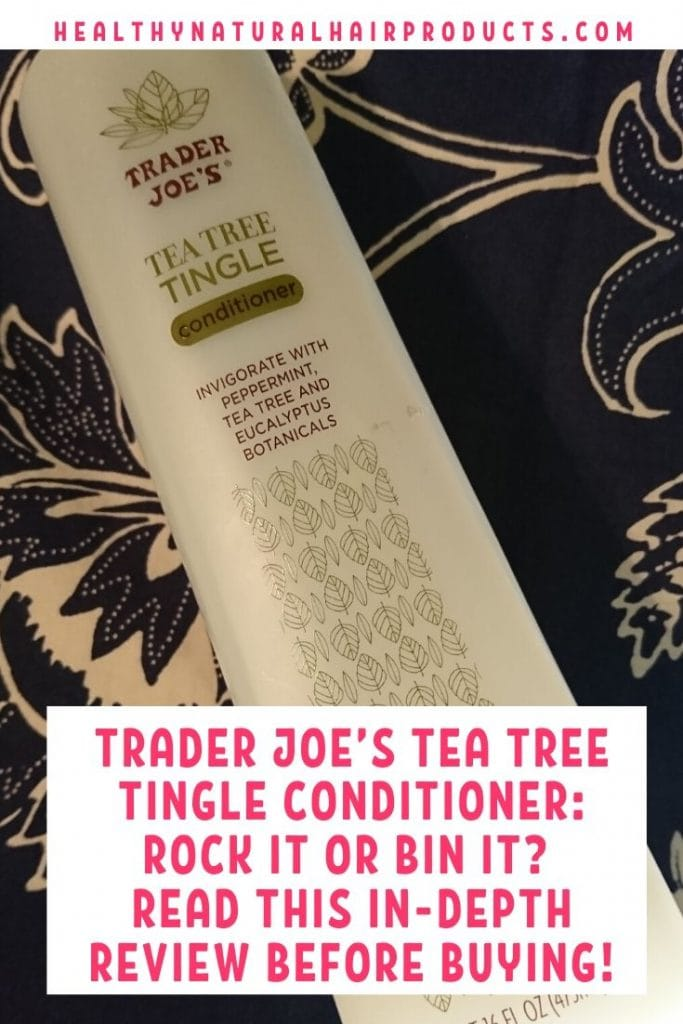 Best Conditioners for Curly Hair - Trader Joe's Tea Tree Tingle Conditioner