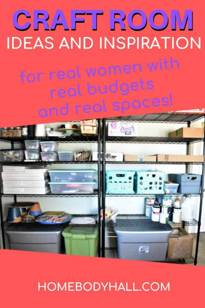 Craft Room Ideas and Inspiration for real women with real budgets and real spaces