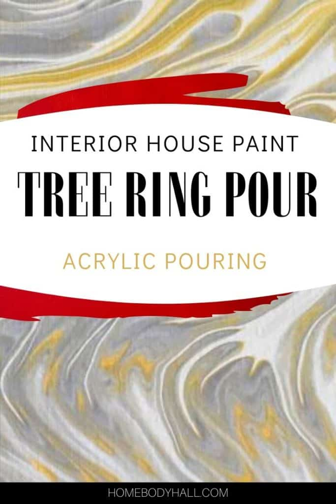 background is acrylic pouring tree ring pour