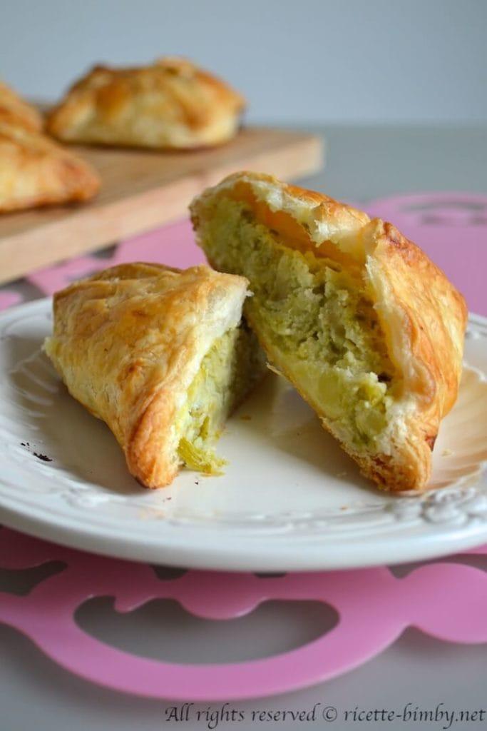 Fagottini agli asparagi bimby