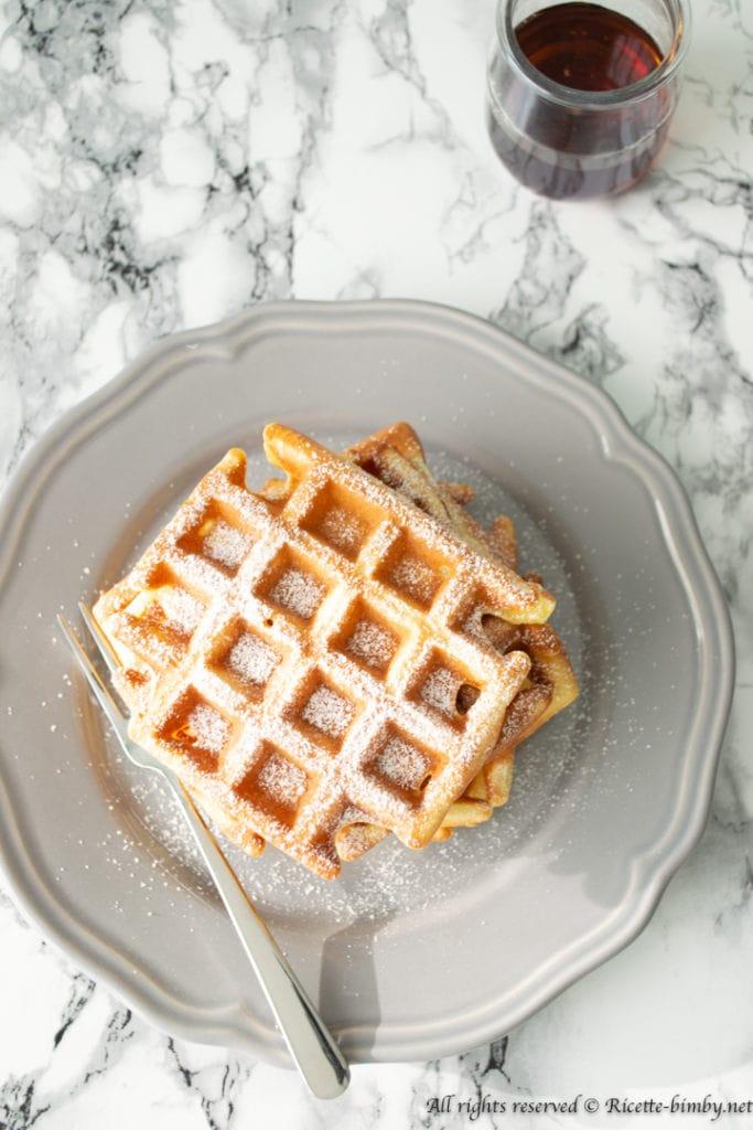 Waffle bimby
