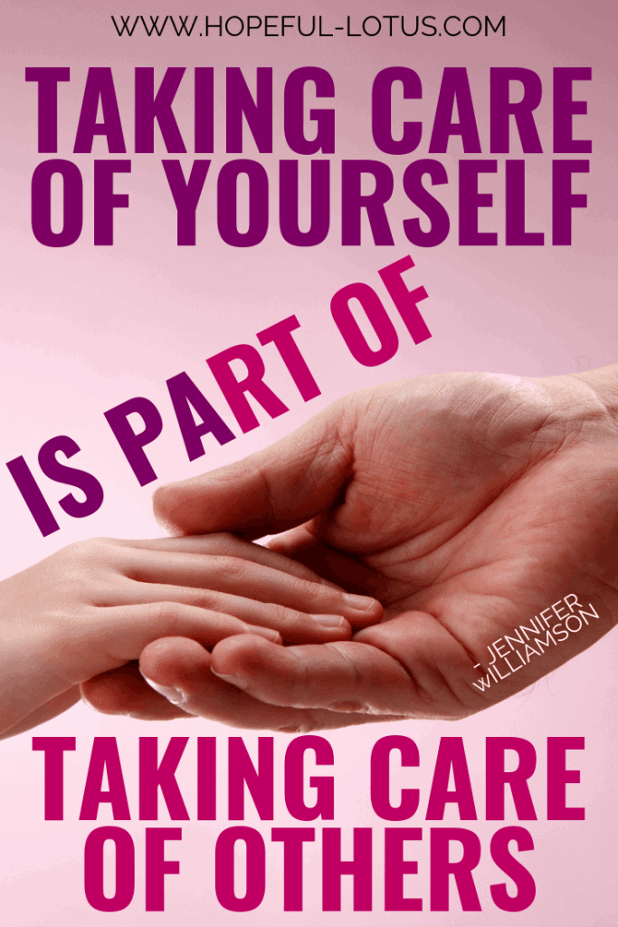 Quotes about caring for others. Self care quotes for moms and teachers!