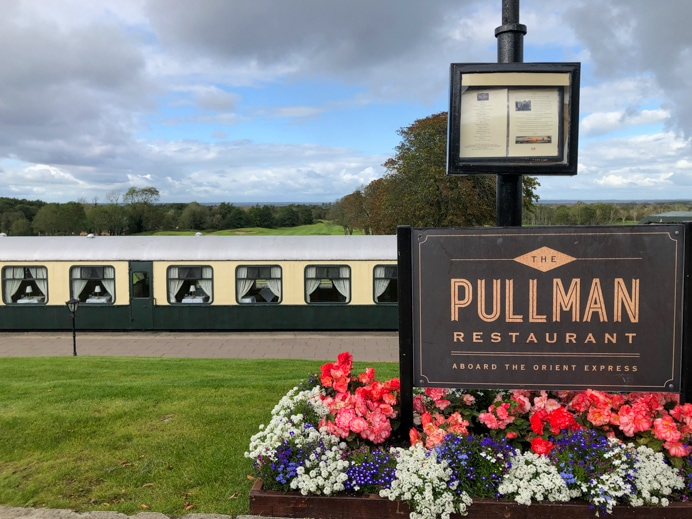 The Pullman Restaurant at Glenlo Abbey Hotel
