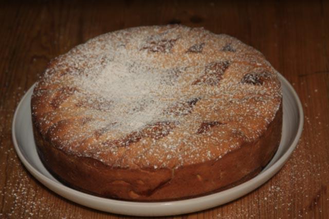 pastiera Napoletana cake