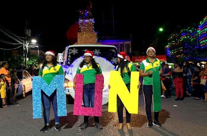 La Muni presente en el Desfile de Navidad Guastatoya 2019