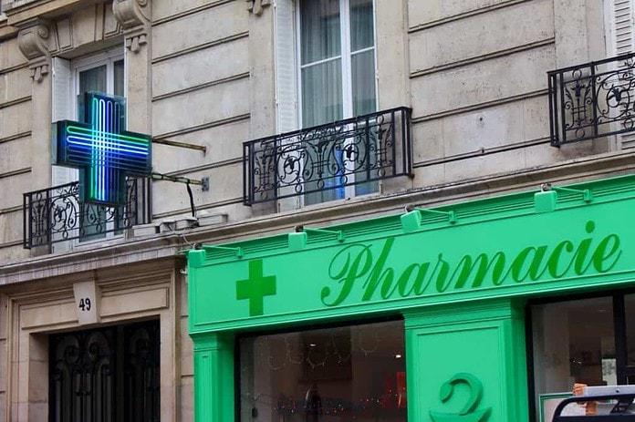 Afbeelding van een Franse Pharmacie