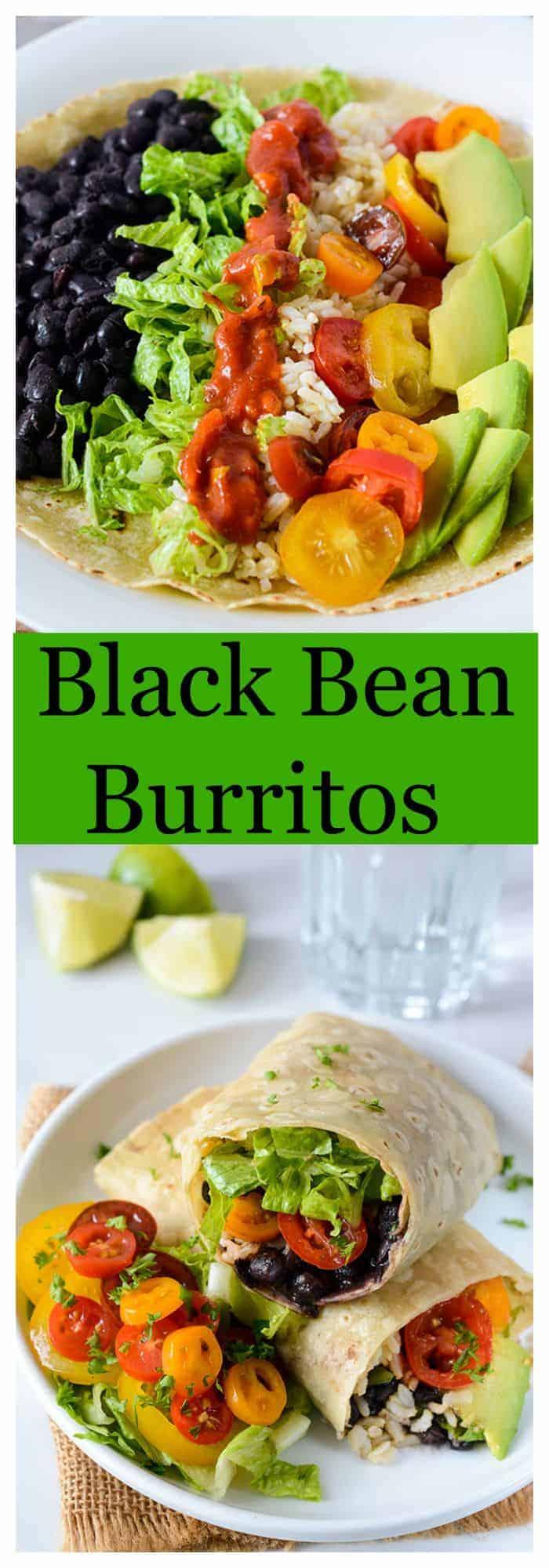 Black Bean Burrito