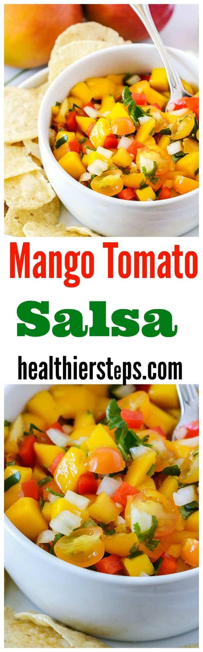 Mango Tomato Salsa