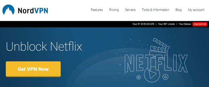 NordVPN still allows Netflix, with SmartPlay