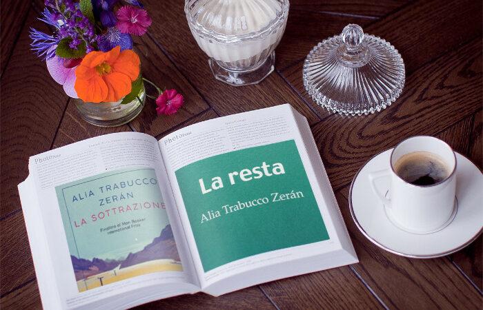 La sottrazione, Alia Trabucco Zerán, recensione istantanea
