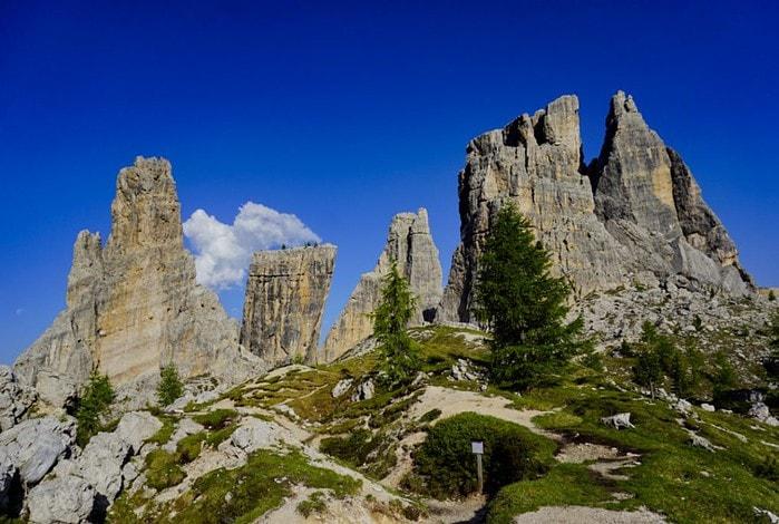 Cinque Torri, Dolomites, Italy - Experiencing the Globe