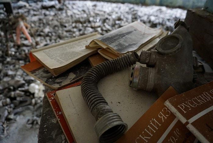Pripyat school Chernobyl Ukraine
