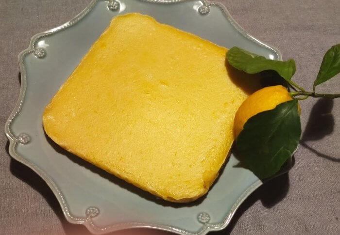 Gâteau au citron  à la stévia