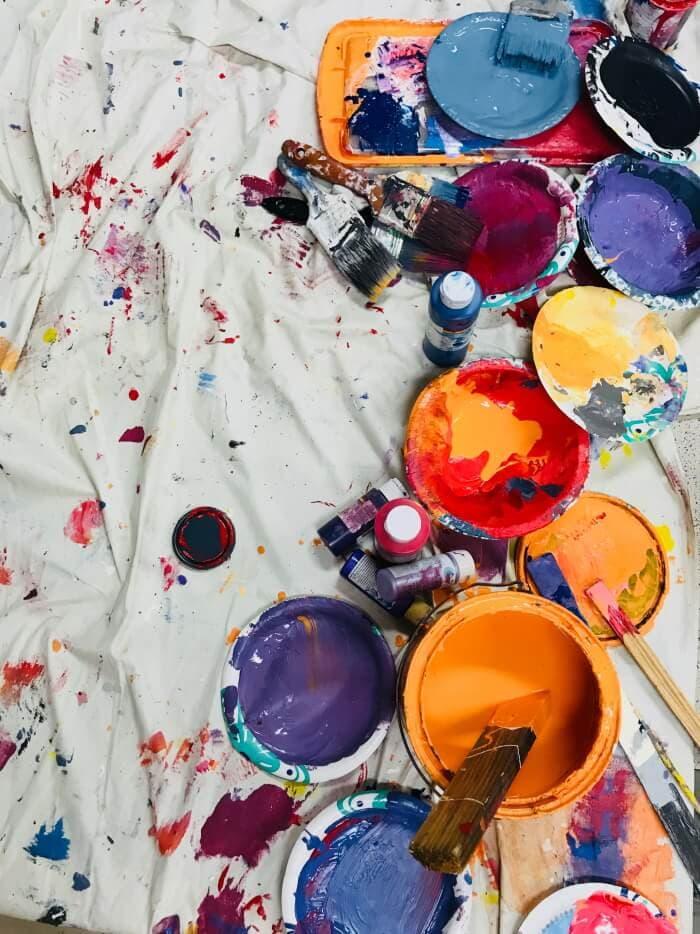 Choose Non-Toxic Paint