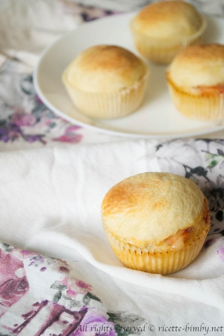 Muffin alla pizza bimby