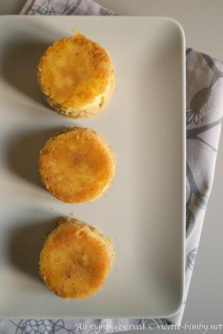 Sformatini di patate e funghi bimby