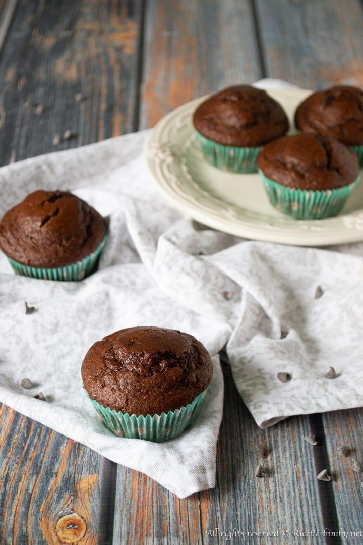 Muffin caffè e cioccolato bimby