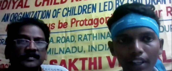 Rop om hjelp fra arbeidende barn i India