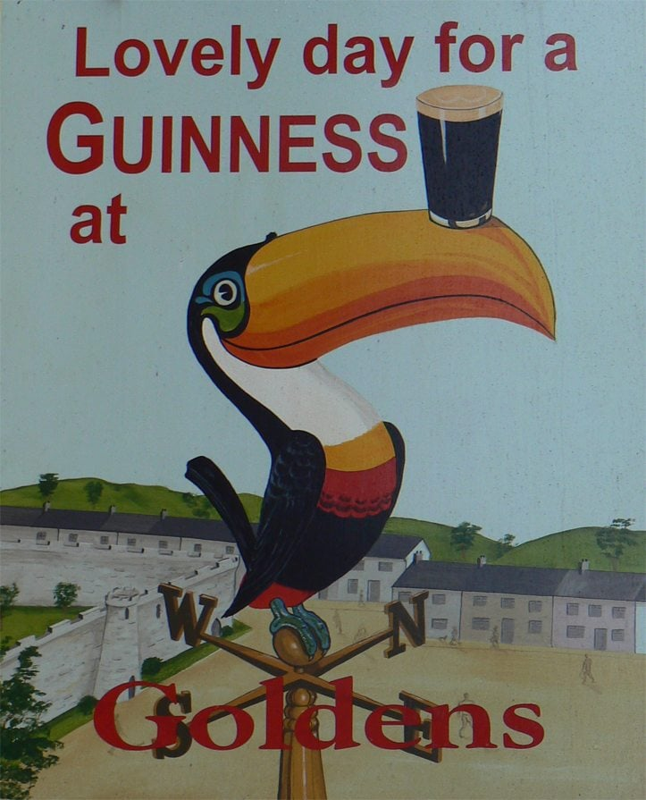 how to pour a guinness