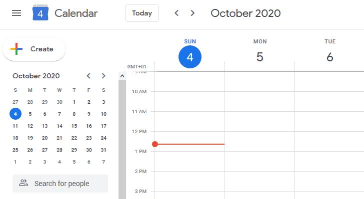 Google Calendar - Free Editorial Calendar Tool