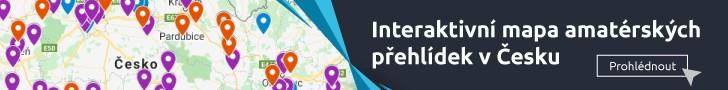 Interaktivní mapa přehlídek celé ČR