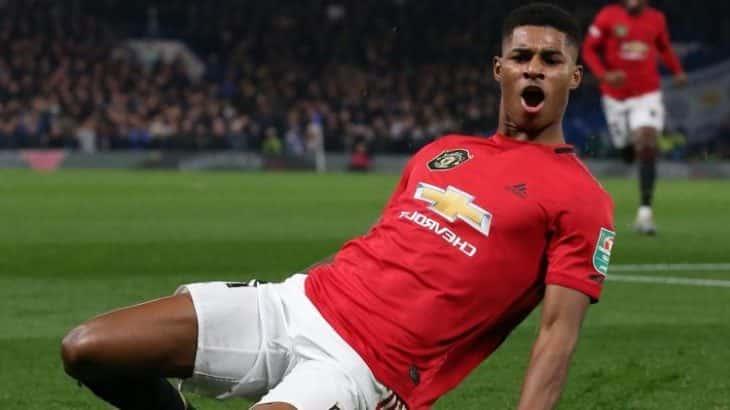 Marcus Rashford of Manchester United v Norwich Predictions