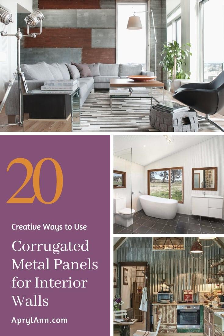 Corrugated Metal Panels For Interior Walls