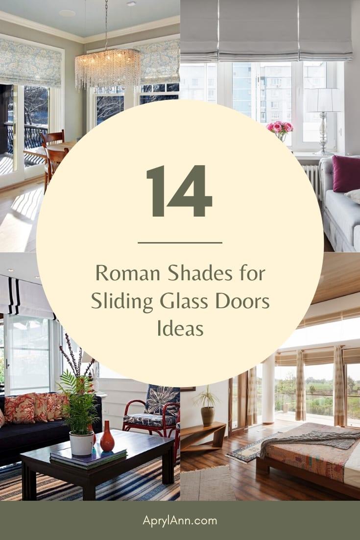 Roman Shades For Sliding Glass Doors
