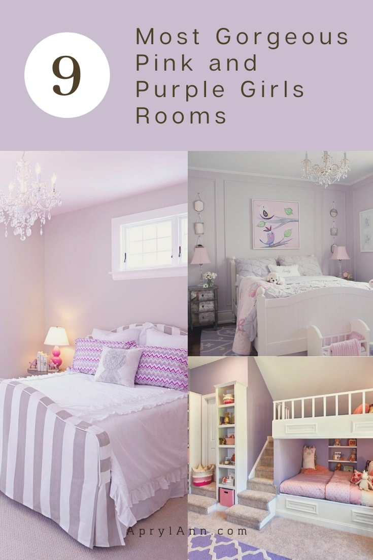 Pink And Purple Girls Rooms