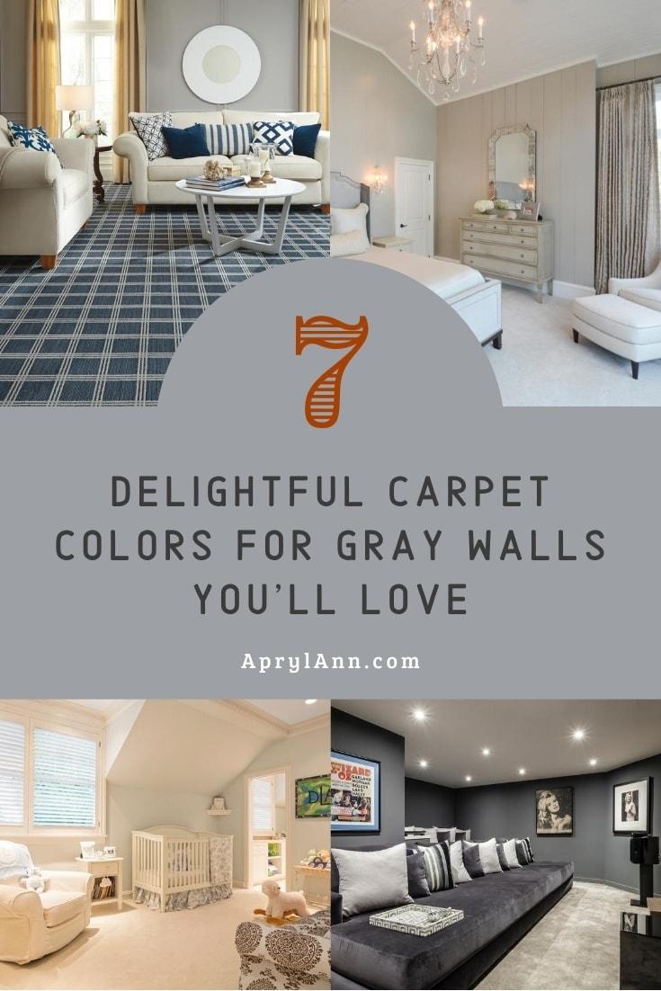Carpet Colors For Gray Walls