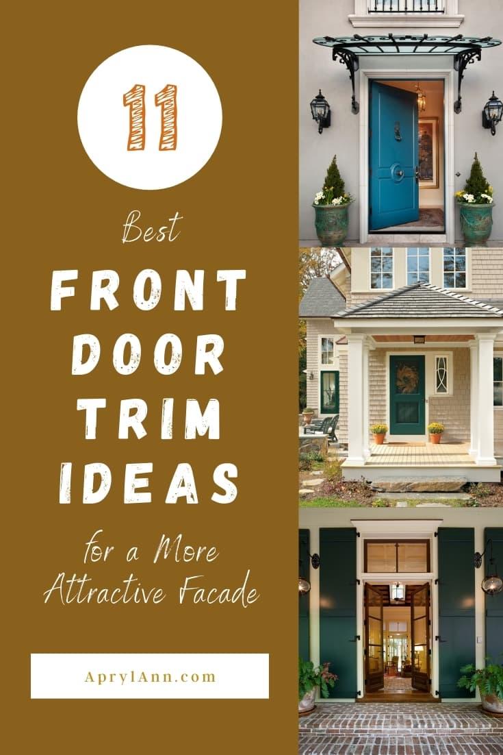Front Door Trim Ideas