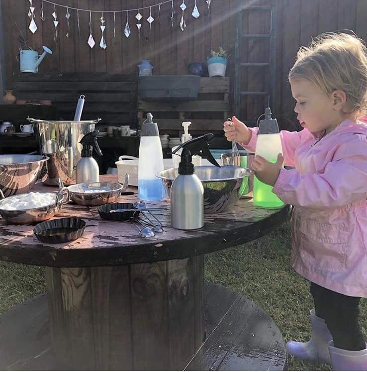sensory play kids